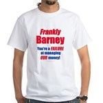 Frankly Barney 2-sided White T-Shirt