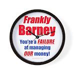 Frankly Barney Wall Clock