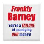 Frankly Barney Tile Coaster