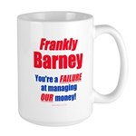 Frankly Barney Large Mug