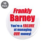"""Frankly Barney 3.5"""" Button (10 pack)"""