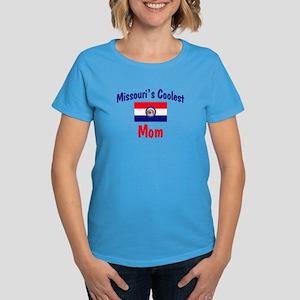 Coolest Missouri Mom Women's Dark T-Shirt
