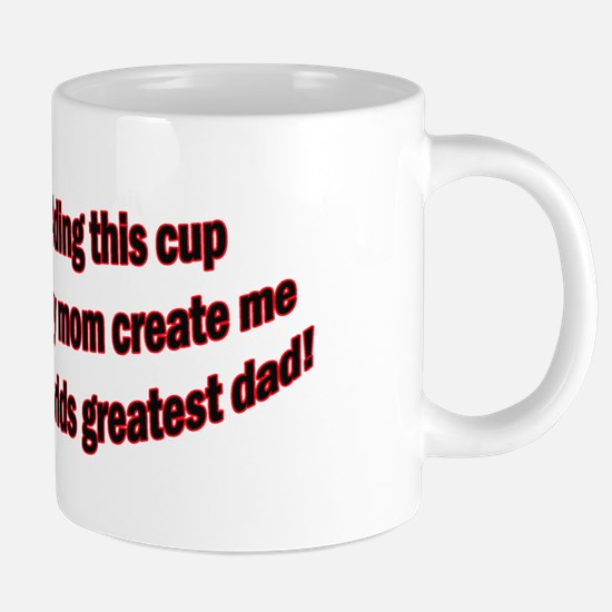 Cute Good fathers day 20 oz Ceramic Mega Mug