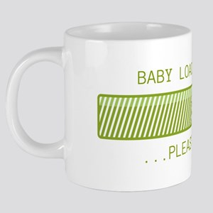 Baby Loading Please Wait 20 oz Ceramic Mega Mug