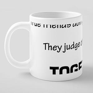 Judge People Together 20 oz Ceramic Mega Mug