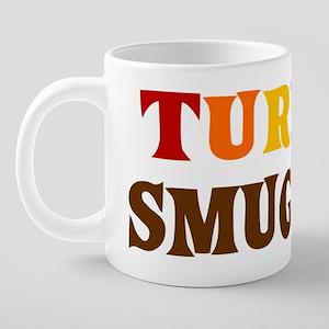 Turkey Smuggler 20 oz Ceramic Mega Mug