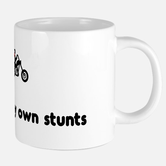 Own stunts bike 20 oz Ceramic Mega Mug