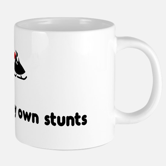 Cute Own stunts bike 20 oz Ceramic Mega Mug