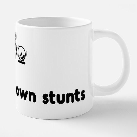 Funny Animals are my friends 20 oz Ceramic Mega Mug