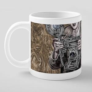 The Camera King 20 oz Ceramic Mega Mug