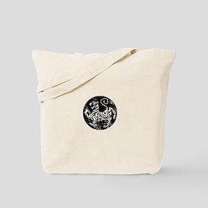 vintage shotokan karate tiger Tote Bag