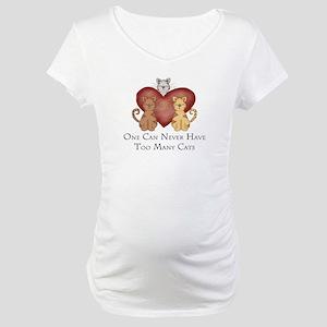 Too Many Cats Maternity T-Shirt