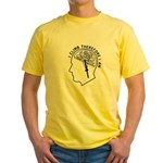 I Climb Therefore I Am Yellow T-Shirt