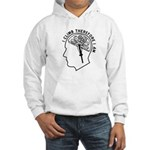 I Climb Therefore I Am Hooded Sweatshirt
