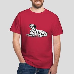 Cartoon Dalmatian Dark T-Shirt