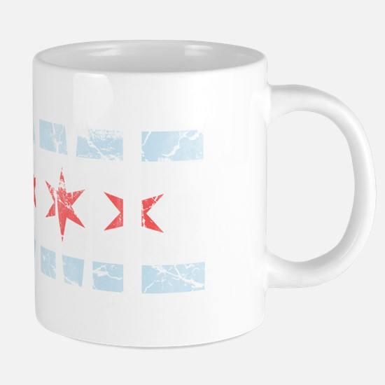 Vintage Home Flag of Chicag 20 oz Ceramic Mega Mug
