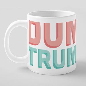 Poo Dump Trump 20 oz Ceramic Mega Mug