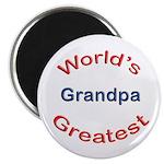 "W Greatest Grandpa 2.25"" Magnet (10 pack)"