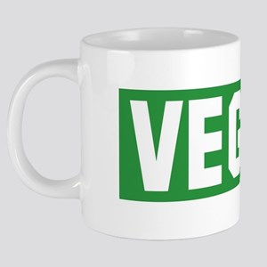 Vegan-Green 20 oz Ceramic Mega Mug