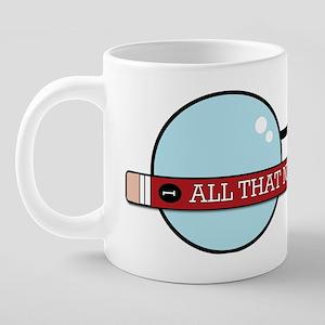 ATNS Logo 20 oz Ceramic Mega Mug