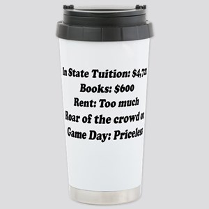 In State Tuition Stainless Steel Travel Mug