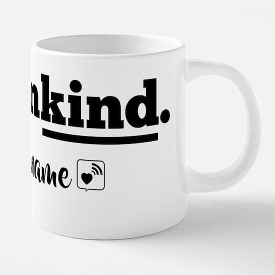 Cute Is kind of a 20 oz Ceramic Mega Mug