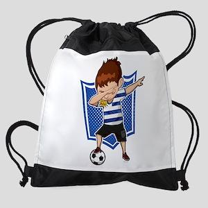 Football Dab Uruguay Uruguayan Foot Drawstring Bag