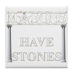 Masons Stones Tile Coaster