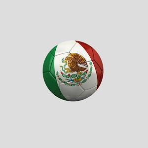 Mexico Soccer Ball Mini Button