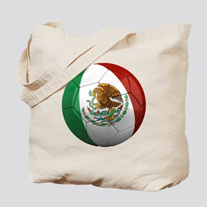 Mexico Soccer Ball Tote Bag