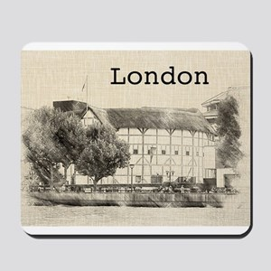 Globe Theater Mousepad