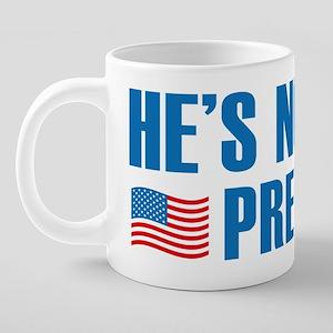 ImpeachTrump2D 20 oz Ceramic Mega Mug