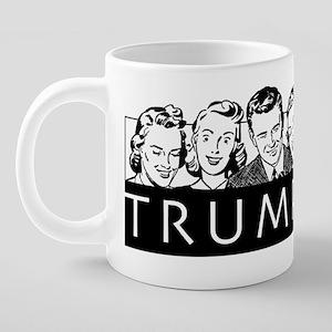 Trumpland 20 oz Ceramic Mega Mug