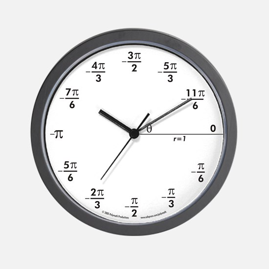 Unique Scientists and mathematicians Wall Clock