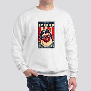 Obey The Pug! USA Flying Ace Sweatshirt