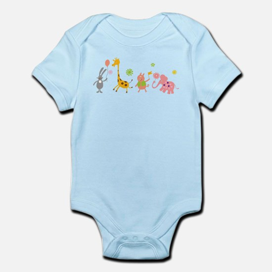 Animals on Parade Infant Bodysuit