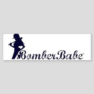 BomberBabe Bumper Sticker (10 pk)