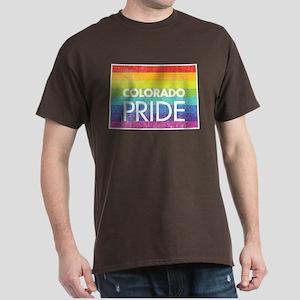 Colorado Pride - Rainbow Dark T-Shirt