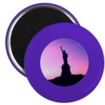 "Statue of Liberty New York 2.25"" Magnet (10 p"