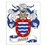 Marin Coat of Arms Small Poster