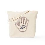 Earthy Petro EyeHand Tote Bag