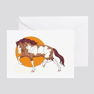 Spanish Mustang Greeting Card