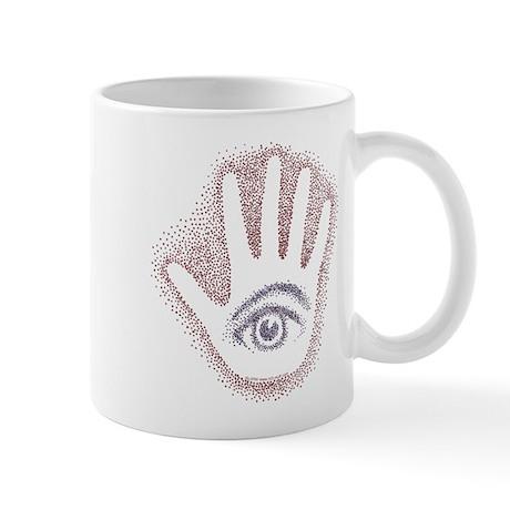 Earthy Petro EyeHand Mug