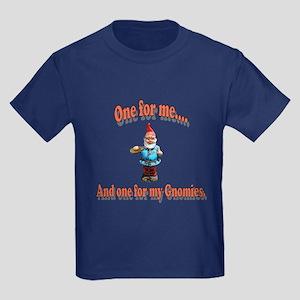One For My Gnomies Kids Dark T-Shirt