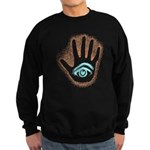 Earthy Petro EyeHand Sweatshirt (dark)