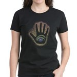 Rainbow Petro EyeHand Women's Dark T-Shirt