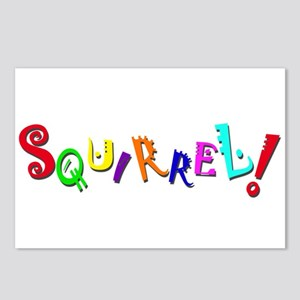 Squirrel! Postcards (Package of 8)