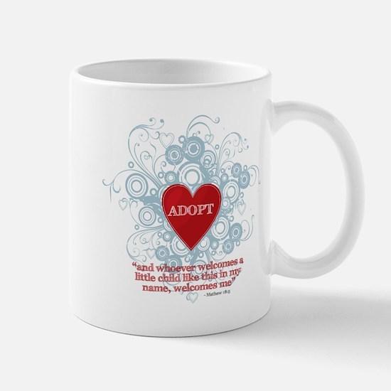 ADOPT WITH VERSE MATTHEW Mugs