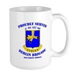 Proudly Served 6/502 Inf Large Mug Mugs