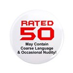 Funny 50th Gifts, Rated 50 3.5